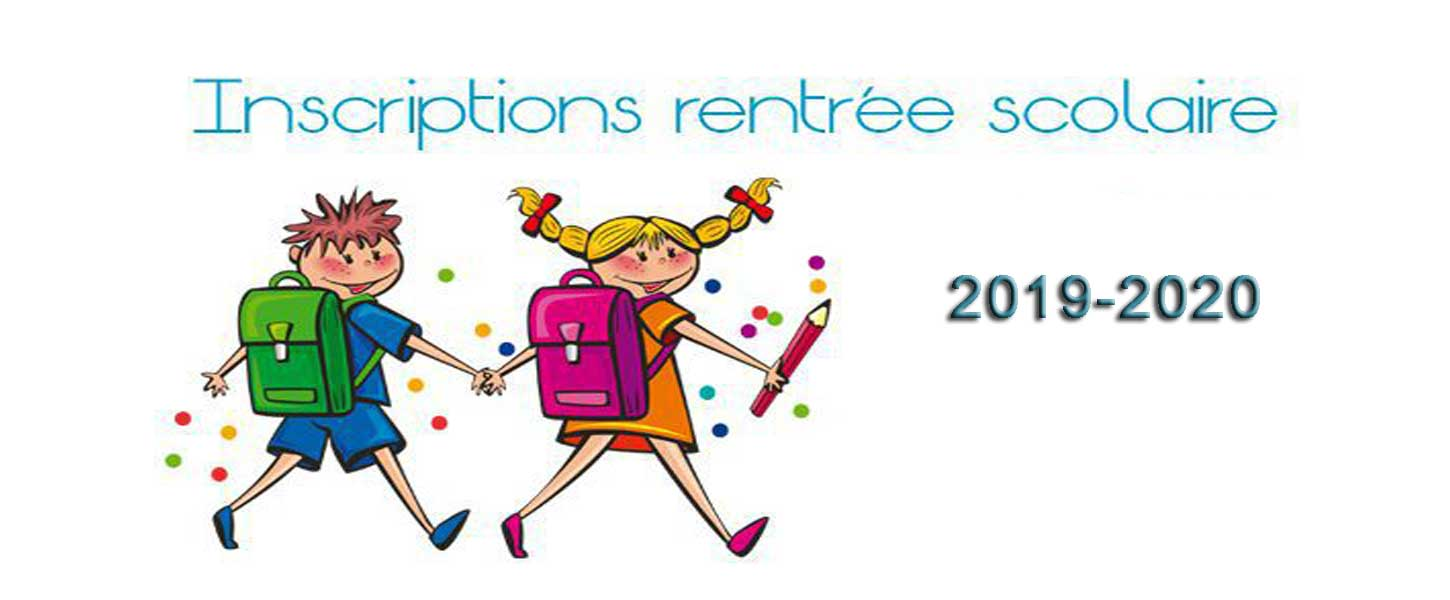 Inscription scolaire 2019